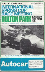 Oulton Spring Cup a